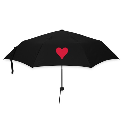 Topaz heart umbrella - Umbrella (small)