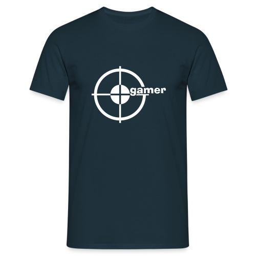GAMER T-Shirt Dunkelblau - Männer T-Shirt