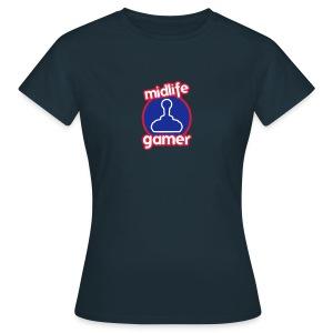 Midlife Gamer - Logo - Women's T-Shirt