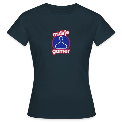 Midlife Gamer - Logo - Women's T-Shirt