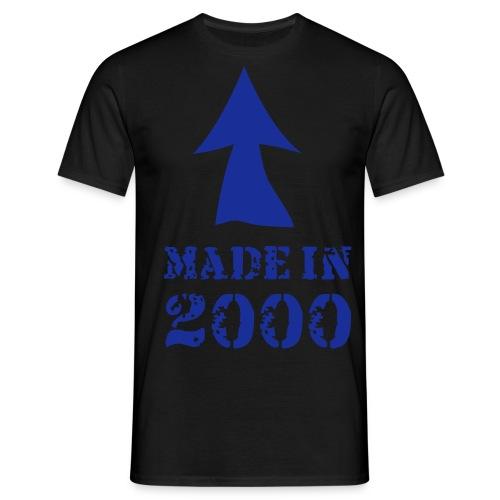 made in 2000 - Mannen T-shirt
