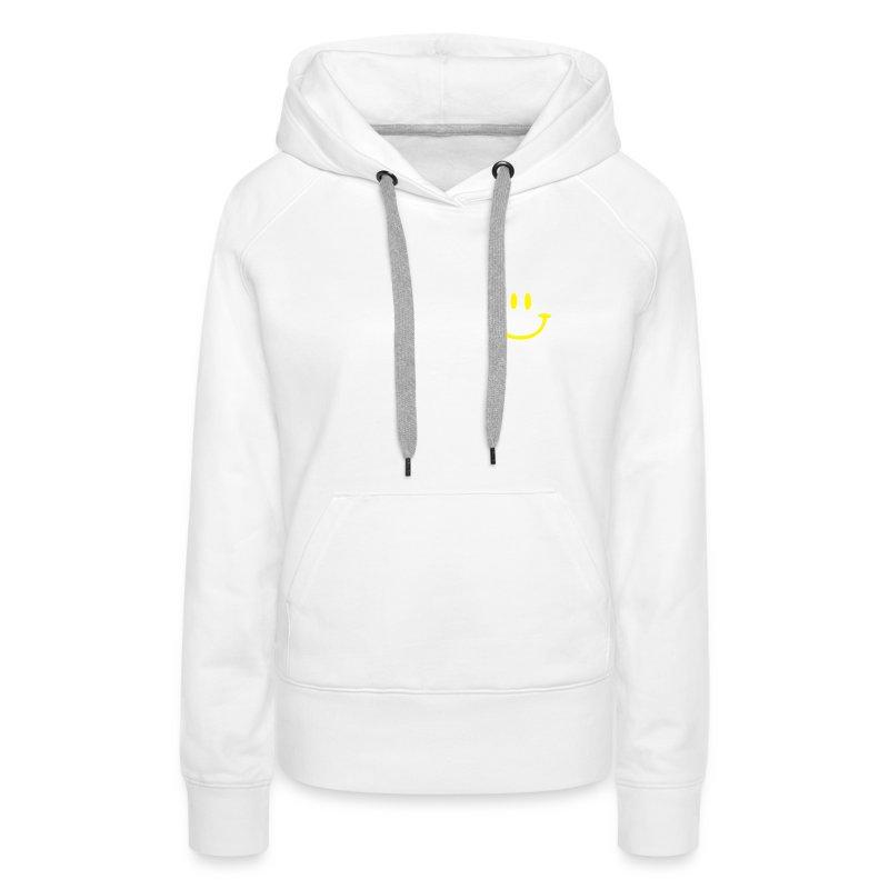 ptb_smiley_face - Women's Premium Hoodie