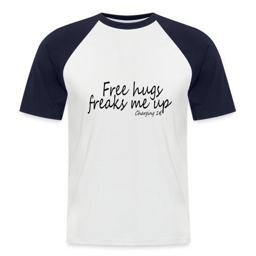 Free hugs men - T-shirt baseball manches courtes Homme