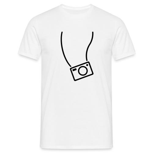 Die Kamera immer dabei! - Männer T-Shirt