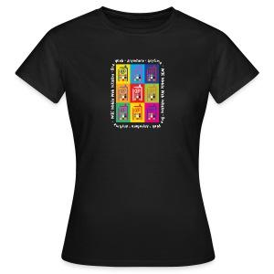MWI_women_black_shirt - Women's T-Shirt
