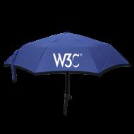 Umbrellas ~ Umbrella (small) ~ w3c_blue_umbrella