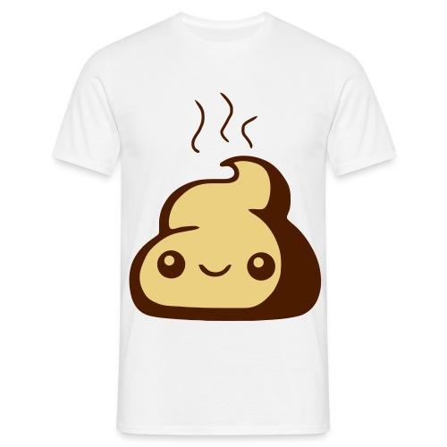 Poo smiley - Men's T-Shirt