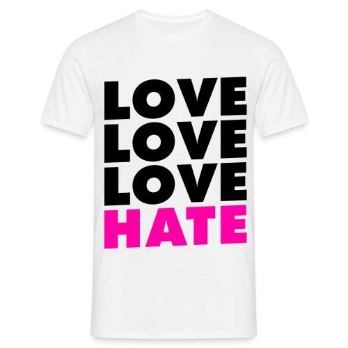 LoveHate - Maglietta da uomo