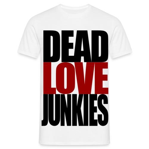 DLJ - white - Men's T-Shirt