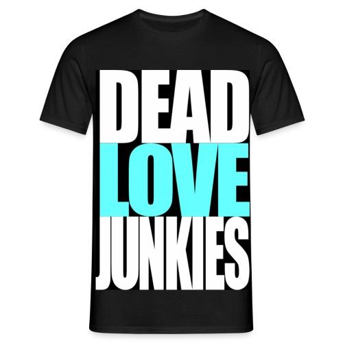 DLJ - Black - Men's T-Shirt