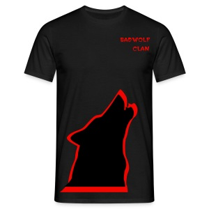 badwolf clan wolf t-shirt - Men's T-Shirt