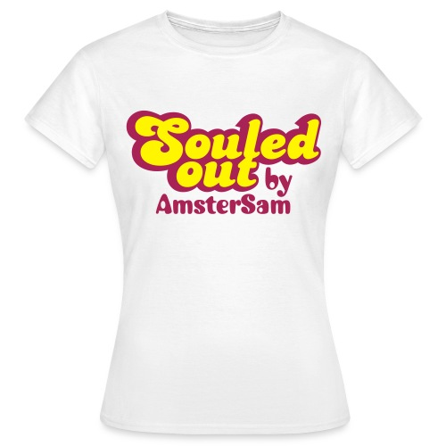 Women's shirt 'Souled Out' White/Yellow - Women's T-Shirt