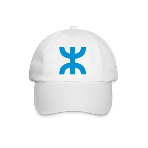 White Aza Cap - Baseball Cap
