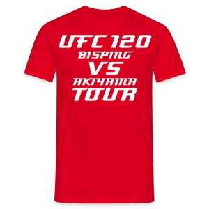 UFC 120 Tour T-Shirt - Men's T-Shirt