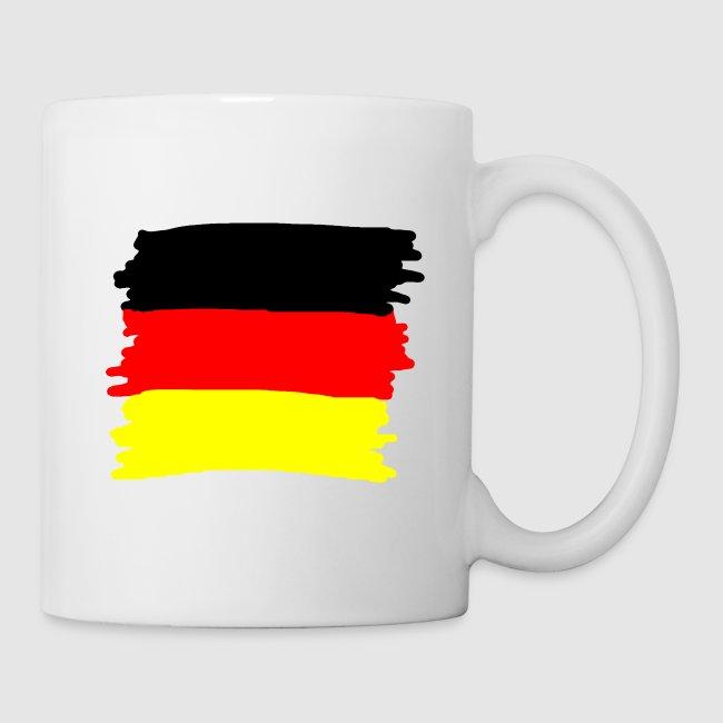 Toller Laden Deutschland Flagge Als Wischer Tasse Tasse