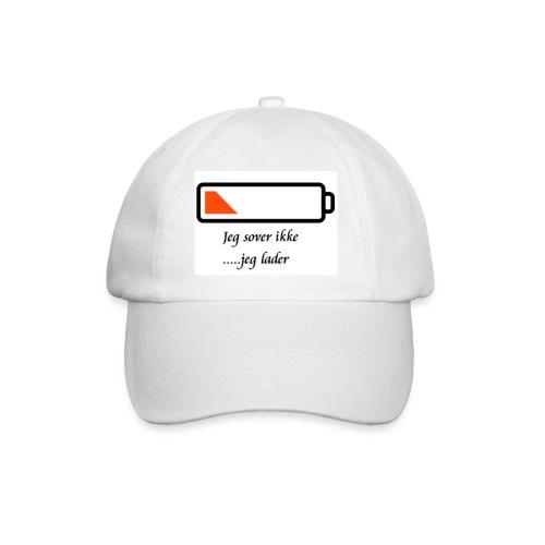 Caps - jeg sover ikke...jeg lader - Baseballcap
