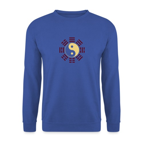 Bagua - Army/Cream/Burgundy - Men's Sweatshirt
