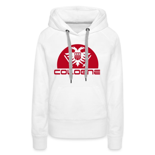 f0682e0a3bcc70 Köln Adler Wappen Hoody