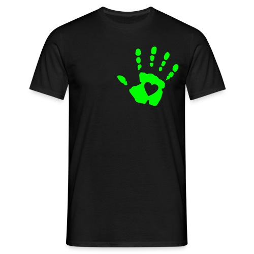 Heart on hand - Men's T-Shirt