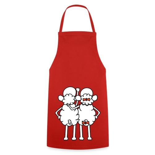 Tablier de cuisine - marié -  RED bis - Tablier de cuisine