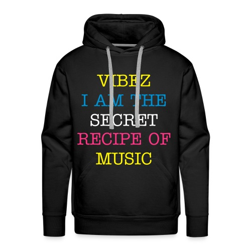 PASS THE MIC  SPECIAL EDITION VIBEZ JUMPER - Men's Premium Hoodie