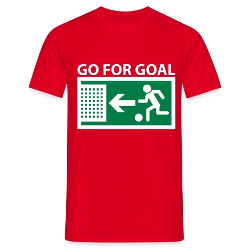 GO FOR GOAL! - Men's T-Shirt