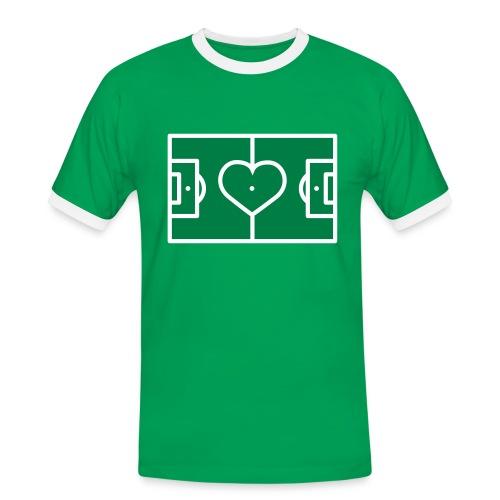 LOVE FOOTBALL - Men's Ringer Shirt