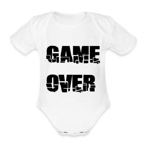Game over - Organic Short-sleeved Baby Bodysuit