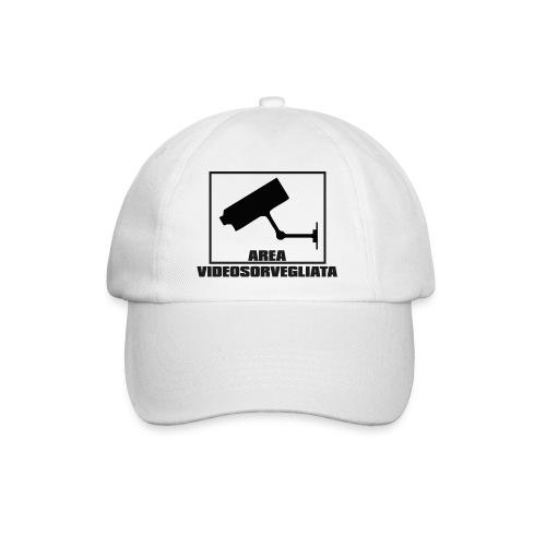 Berretto Area Videosorvegliata - Cappello con visiera
