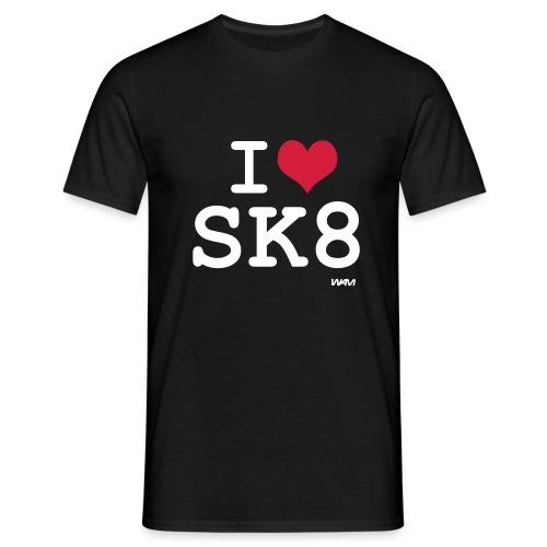 Skateboard - T-shirt herr