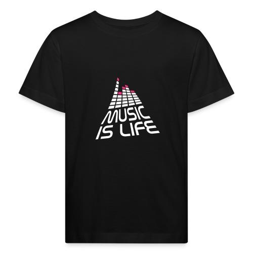 Musik är livet - Ekologisk T-shirt barn
