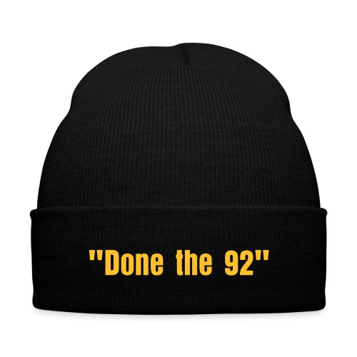 Done the 92 Winter Hat - Winter Hat