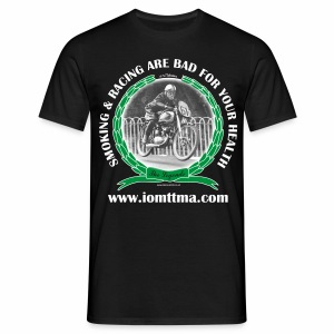 Smoking and Racing IOMTTMA - Men's T-Shirt