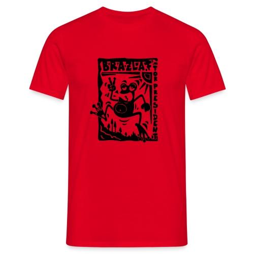 Brazlaf Red'n'Black - Männer T-Shirt