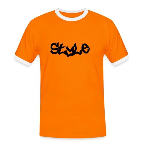 Style - Camiseta contraste hombre