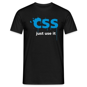 CSS Just Use It ! - T-shirt Homme