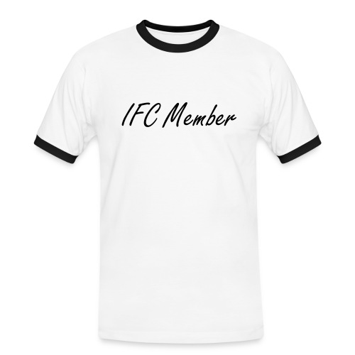 IFC Membershirt (Manner) - Männer Kontrast-T-Shirt