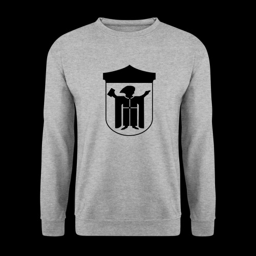 Kapuzenpullover Flexdruck schwarz - Männer Pullover