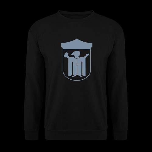Kapuzenpullover Flexdruck silber matt - Männer Pullover