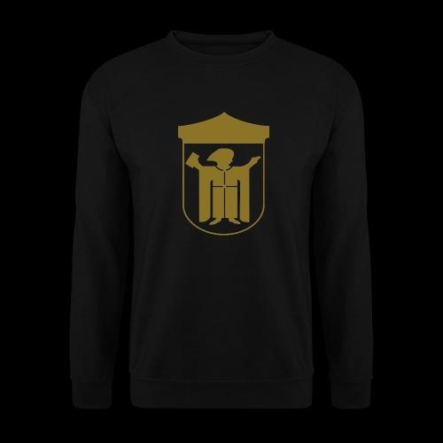 Kapuzenpullover Flexdruck gold matt - Männer Pullover