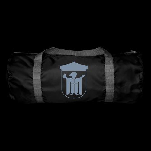 Sporttasche Flexdruck silber matt - Sporttasche