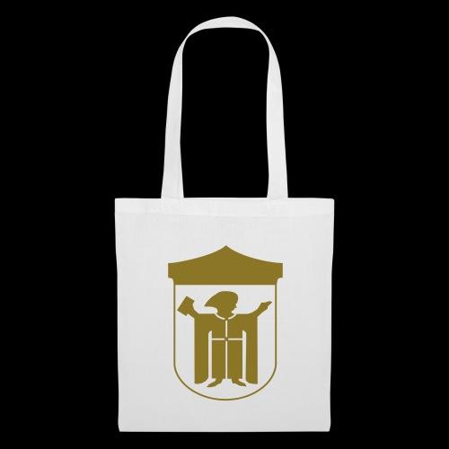 Stofftasche  gold matt - Stoffbeutel