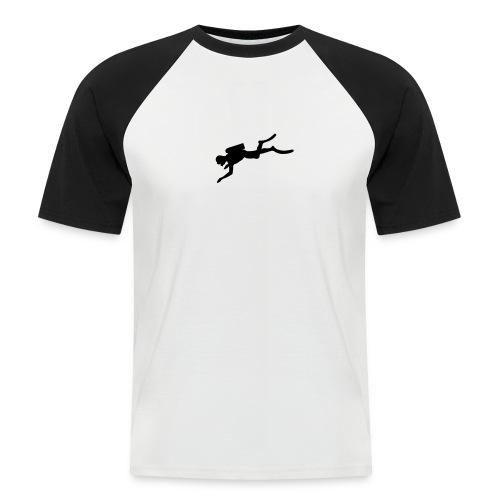 PLONGEE - PLONGEUR  - T-shirt baseball manches courtes Homme
