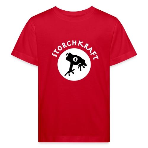 Kinderhemd Storchkraft - Kinder Bio-T-Shirt