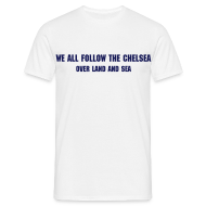 T-Shirts ~ Men's T-Shirt ~ Over Land and Sea