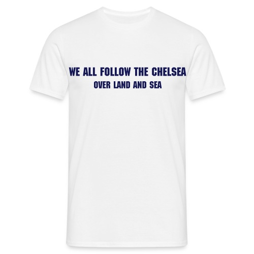 Over Land and Sea - Men's T-Shirt
