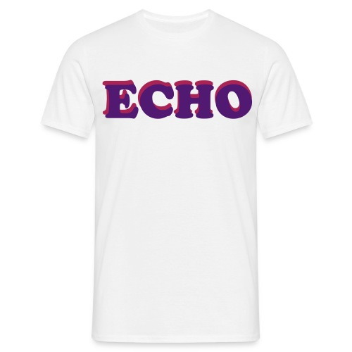 ECHO  - Herre-T-shirt