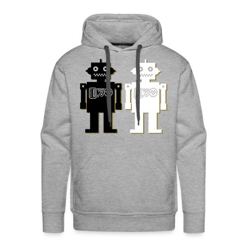 Robot Couple hoodie - Men's Premium Hoodie