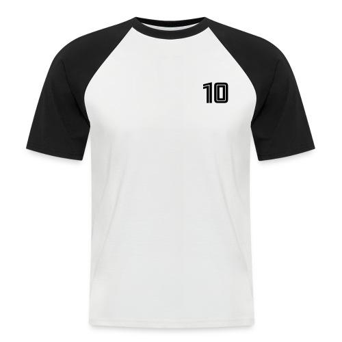 Sieg oder Blut am Pfosten - Männer Baseball-T-Shirt