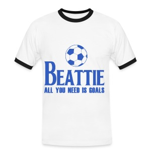 Beattie - All You Need is Goals - Men's Ringer Shirt